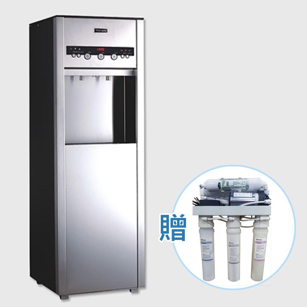 【德克生活】Q5-3立地型/直立式冰冷熱三溫飲水機(免安裝費+贈RO 5道式過濾器)