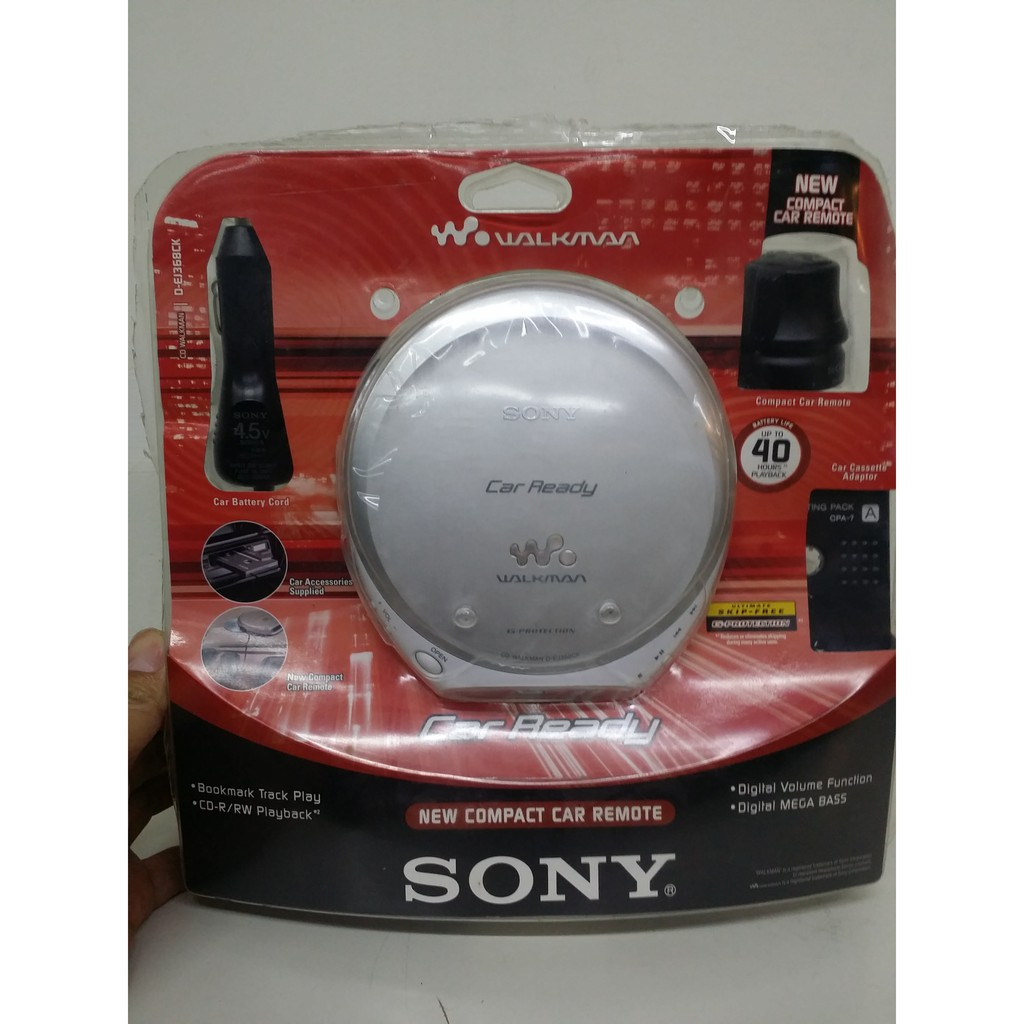 Sony walkman D-EJ368CK CD隨身聽