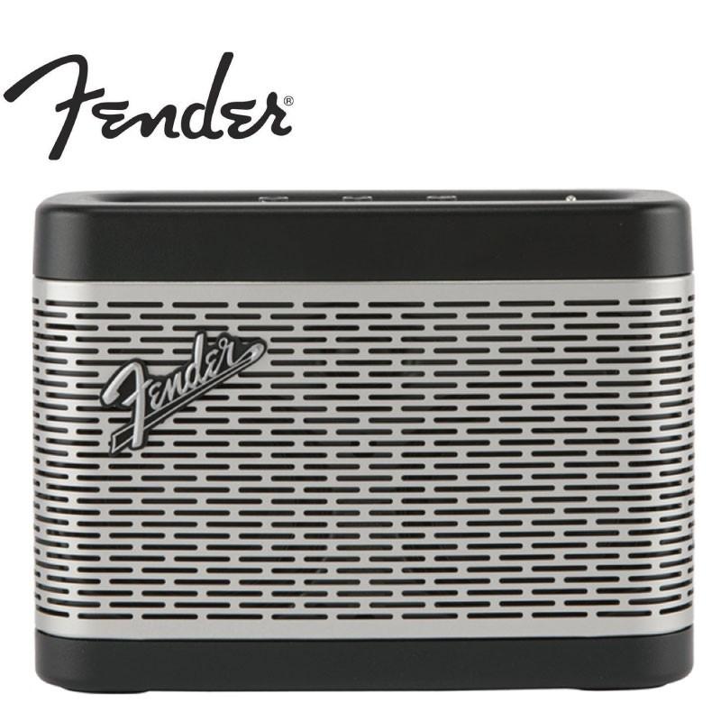 Fender Newport 無線藍牙充電喇叭 黑色【i.ROCK 愛樂客樂器】