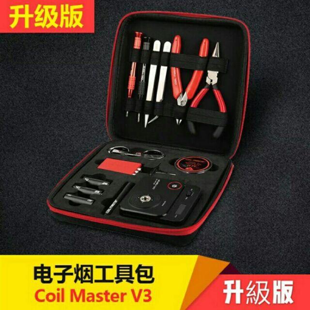 Coil Master Diy kit V3三代原廠正品組 工具包 (含新版歐姆機v2/捲線神器/六角起子)