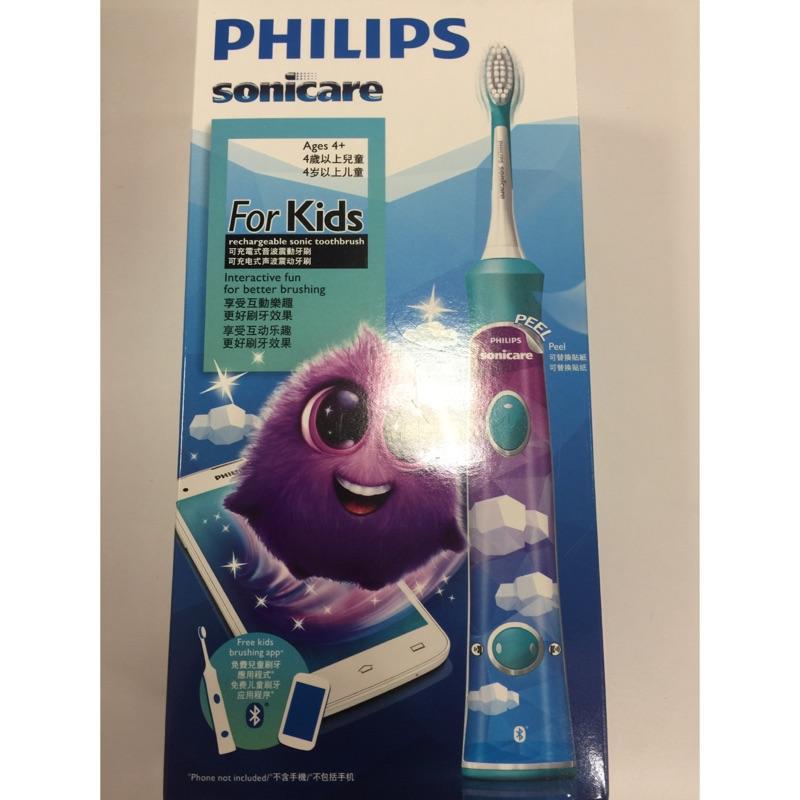 飛利浦 philips 兒童音波牙刷 HX6322 (優於HX6311)