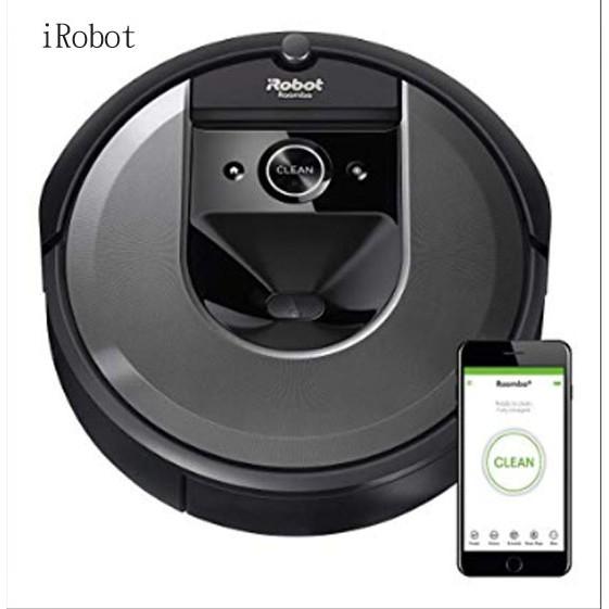 美國 iRobot Roomba i7 智慧地圖&wifi&客製化APP 掃地機器人