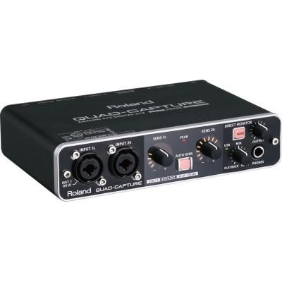 【二手附軟體】Roland UA-55 直播K歌錄音/老牌高品質錄音介面