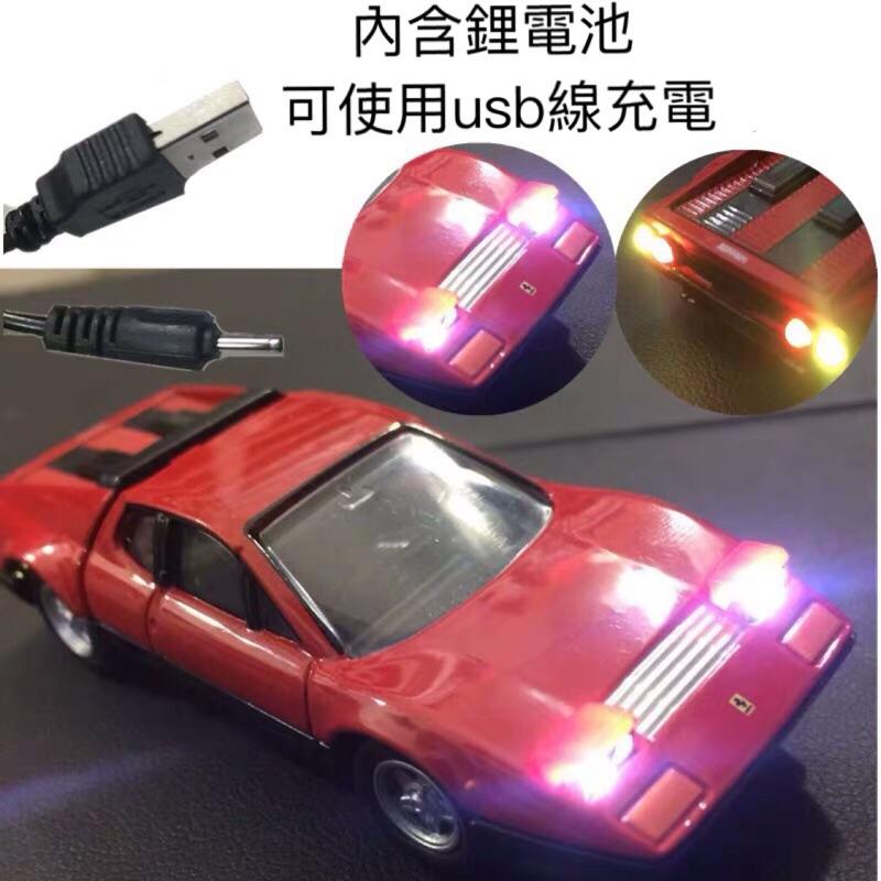 Tomica Premium 17 Ferrari 512BB 發光版 附膠盒