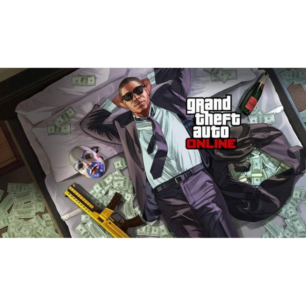 GTA5 代刷 金錢(不限金額)