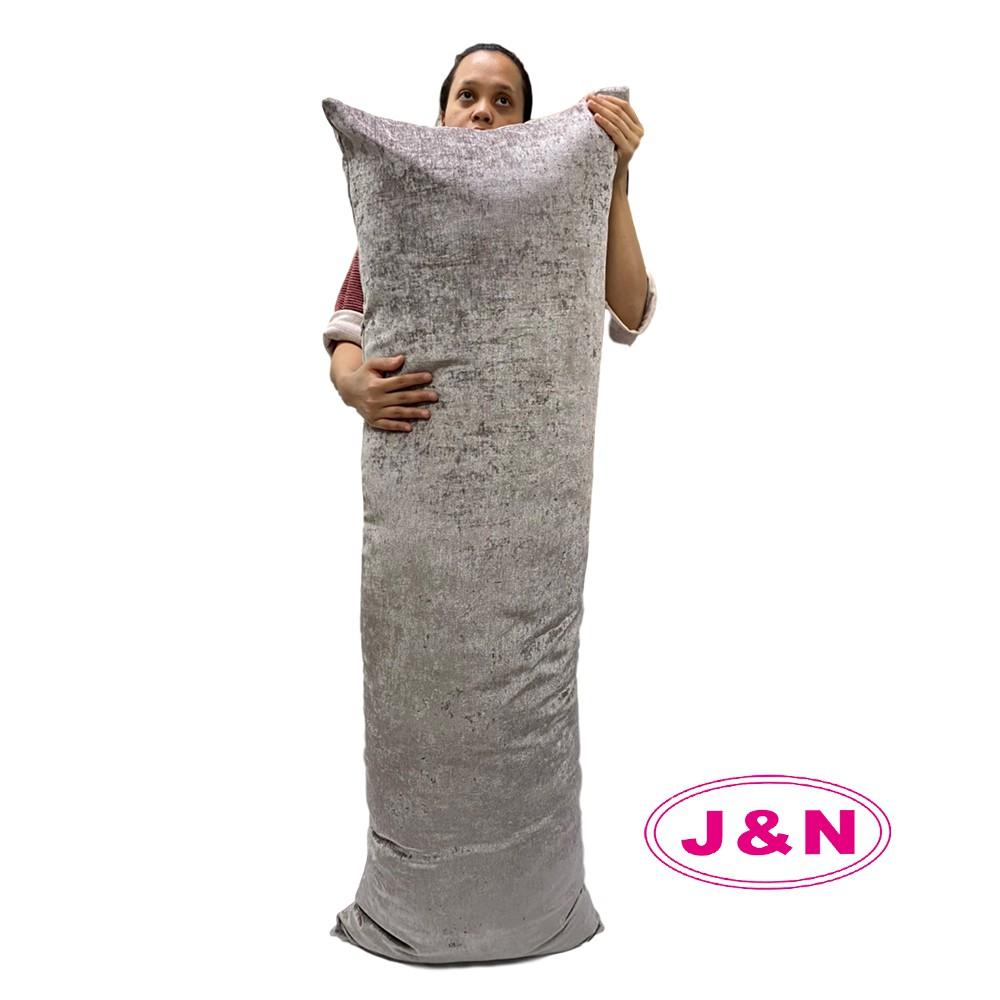 【J&N】艾爾絲絨巨無霸長抱枕50*150駝色(1入)12月社群快閃日