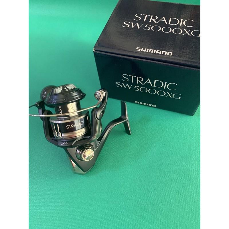 SHIMANO岸拋鐵板捲線器STRADIC SW 5000XG/5000PG/6000XG(鐵板/微鐵/路亞)