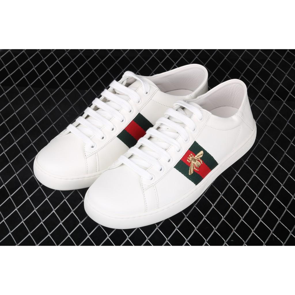 【🔥現貨 品質打槍包退】Gucci小蜜蜂 Gucci鞋子 Gucci布鞋 Gucci皮鞋 Gucci慢跑鞋 小白鞋