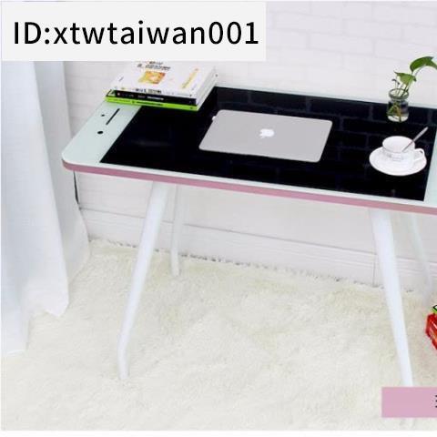 #蘋果手機創意造型桌子電腦桌兒童學習寫字桌子戶型簡易桌