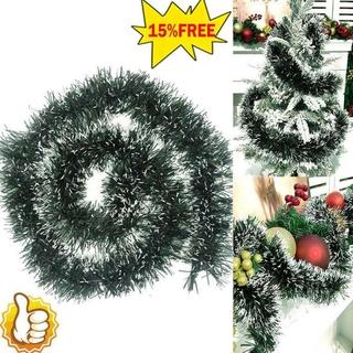 聖誕樹裝飾品金屬絲條家用派對牆門聖誕節裝飾 200cm