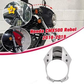 適用於本田CMX500 Rebel CMX 500 300 Rebel500的摩托車大燈整流罩前叉風擋摩托車整流罩