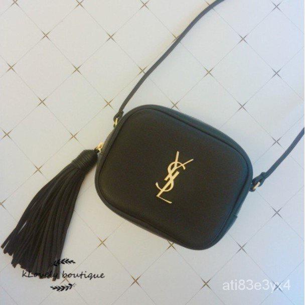 CC二手YSL Saint Laurent blogger bag 流蘇包 相機包 斜背 金色logo 現貨