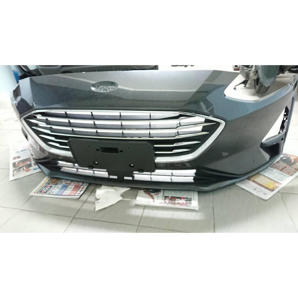 原廠 福特Ford Focus MK4 Titanium 2020年款 前保桿(鐵灰)