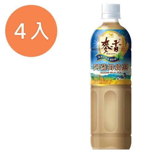 統一 麥香 阿薩姆奶茶 600ml (4入)/組