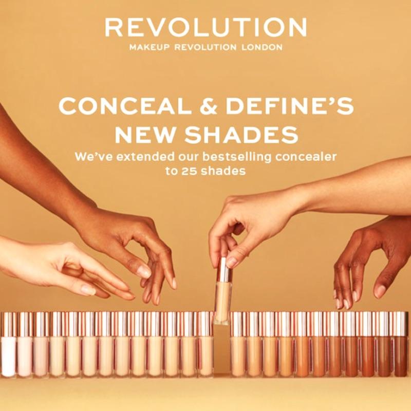 🐻[現貨✨] Makeup Revolution 遮瑕膏 Conceal & Define ✨平價版Tarte遮瑕膏