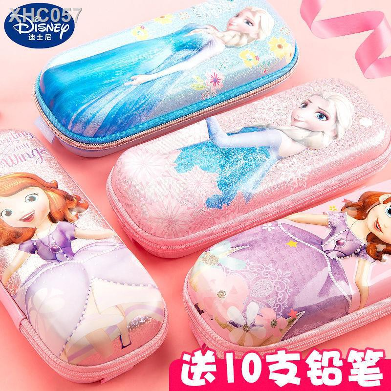 【現貨】❣♘迪士尼筆袋簡約文具盒女生創意文具袋兒童可愛大容量鉛筆盒女