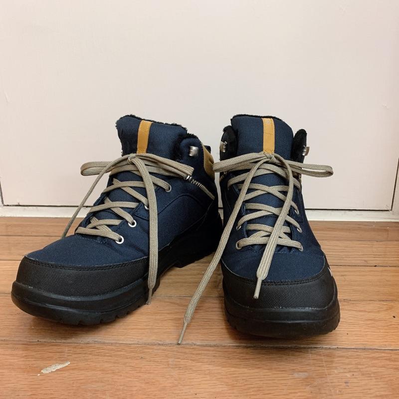 迪卡儂運動休閒鞋 防水 雪靴 登山靴27.5/26.5