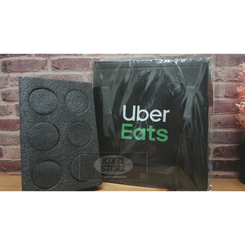 [當日出貨]Ubereats 提袋 uber eats 手提袋 保溫袋 小包 方便 正版 官方公司貨