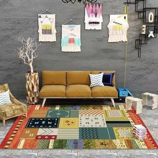【家居地墊】超大200*300公分 摩洛哥地毯  家居裝飾 民族風 客廳臥室 波西米亞地墊地毯滿鋪  可機洗水洗