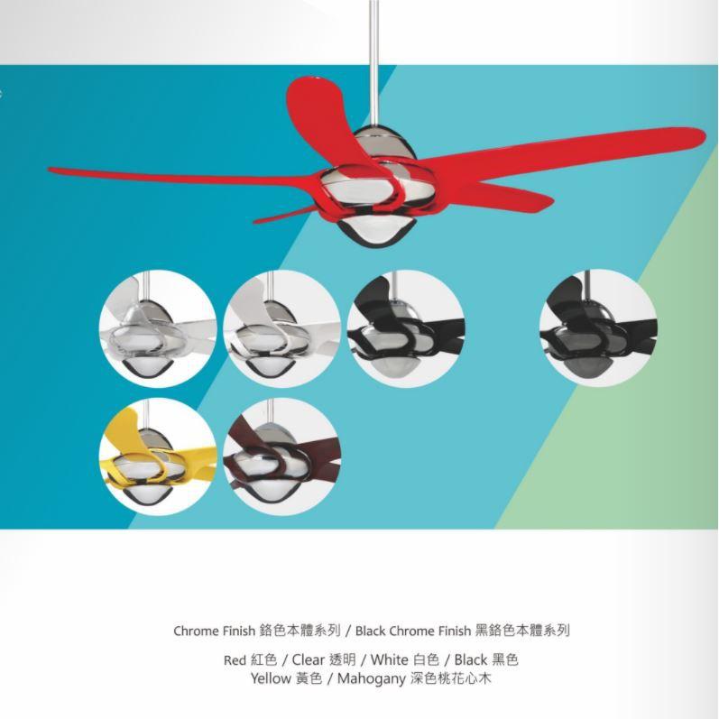 【燈王的店】《VENTO芬朵精品吊扇》54吋吊扇+遙控器 (54URAGANO) 颶風系列 送基本安裝