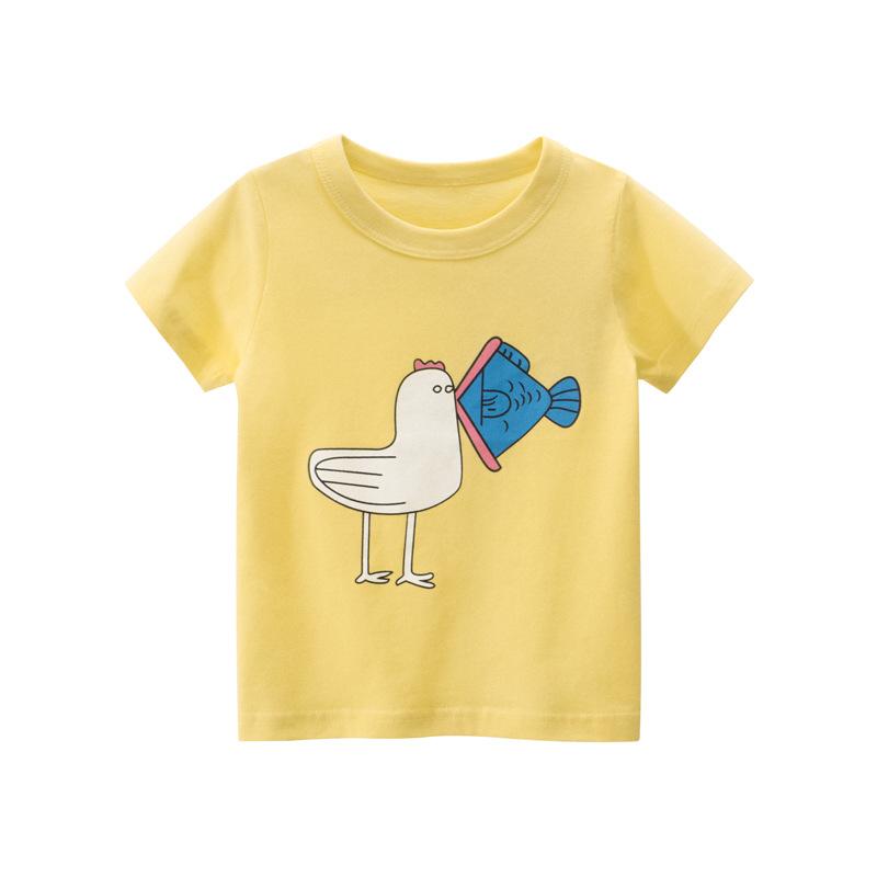 韓版童裝 夏季兒童短袖T恤新款女寶寶衣服純棉女童t恤