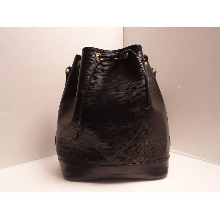 《十九號二手屋》二手LV EPI水波紋大水桶[黑色] Noe 肩背包/斜背包/ Louis Vuitton /路易威登