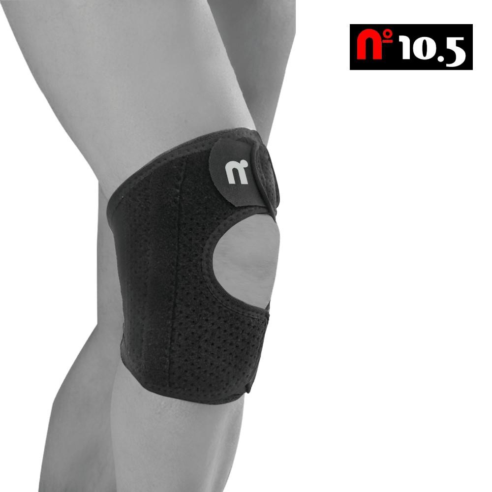 透氣款綁帶雙磁石護膝