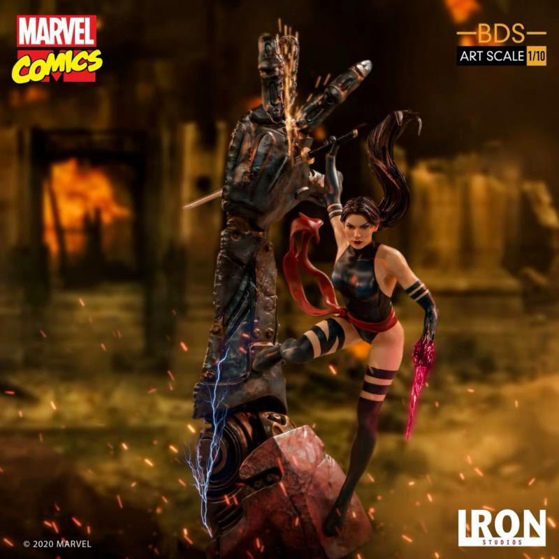 Iron Studios 巴西廠 X戰警系列 1/10 Psylocke 靈蝶 雕像 手辦
