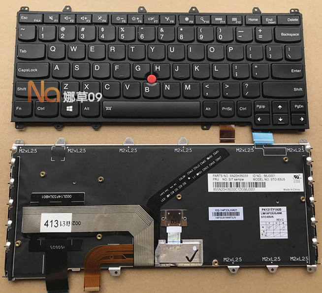 原裝英文聯想Thinkpad Yoga 260 yoga 260S 鍵盤帶背光