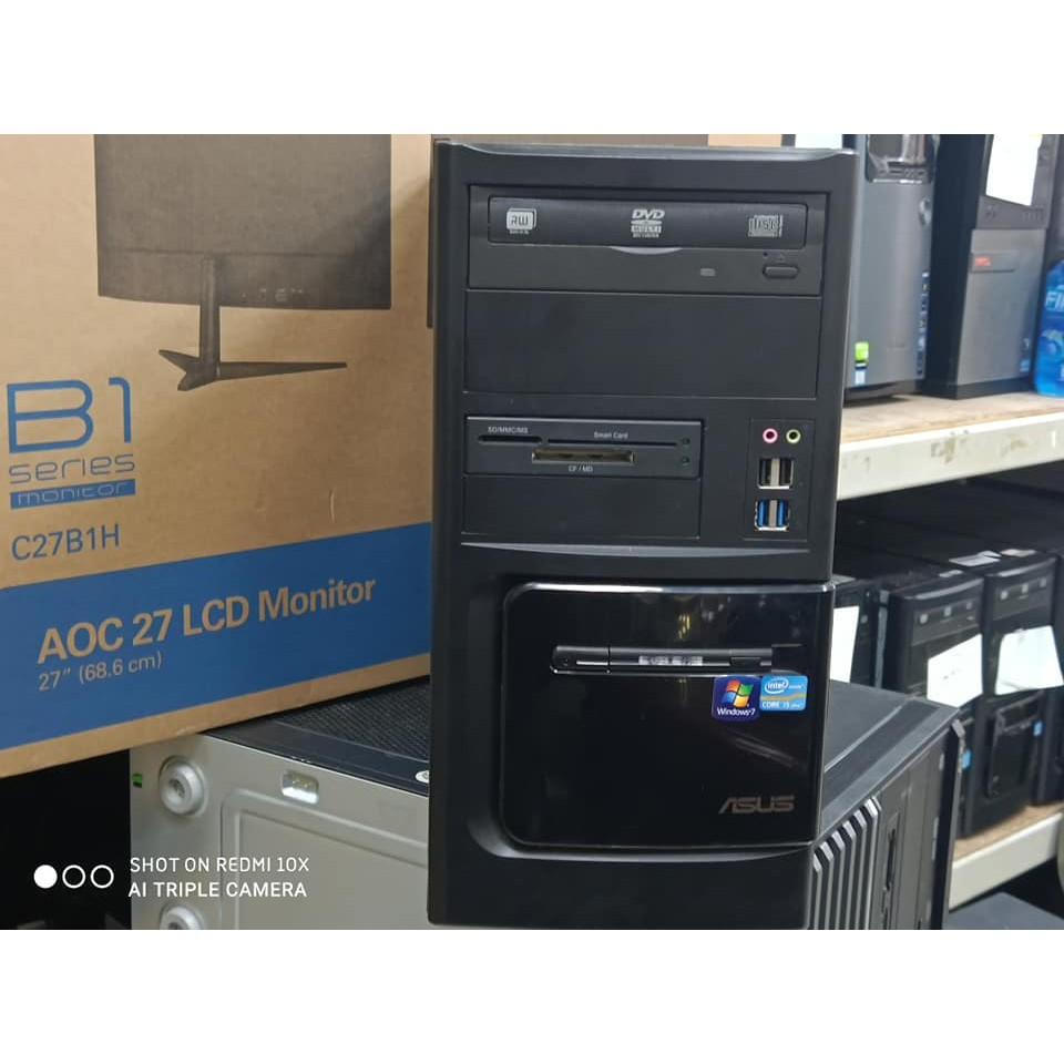 售ASUS三代I5 3470主機 全新固態硬碟 正版WIN10 一鍵還原 實體店面 速度保證快  吃雞 GTA5 天堂M