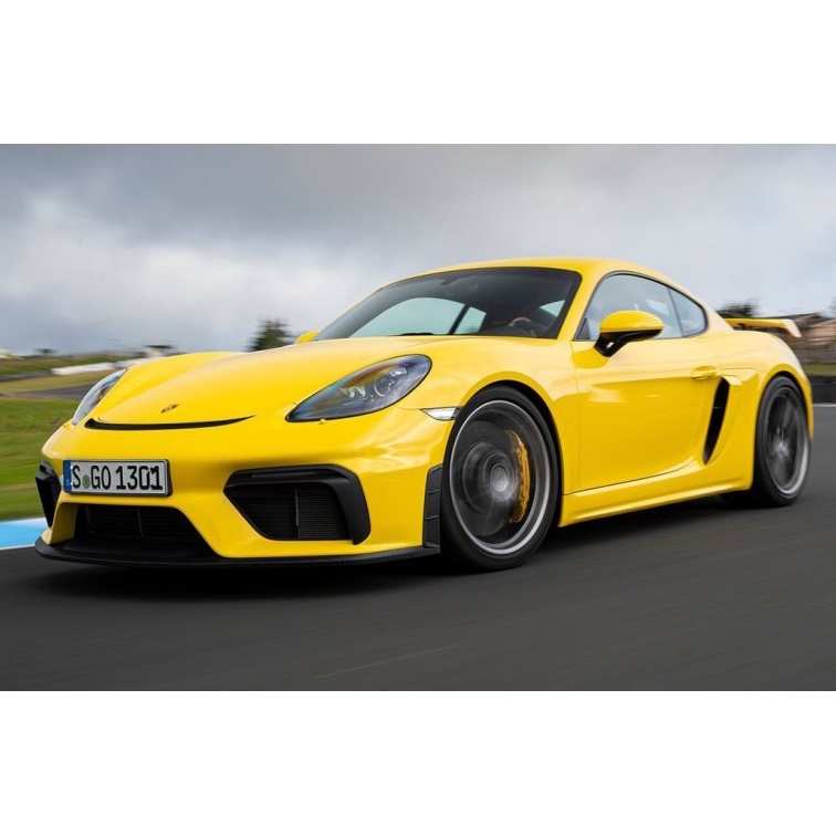 宗蒼車身設計 - 保時捷 718 GT4 前保桿 保桿 空力套件 外觀 Porsche cayman boxster