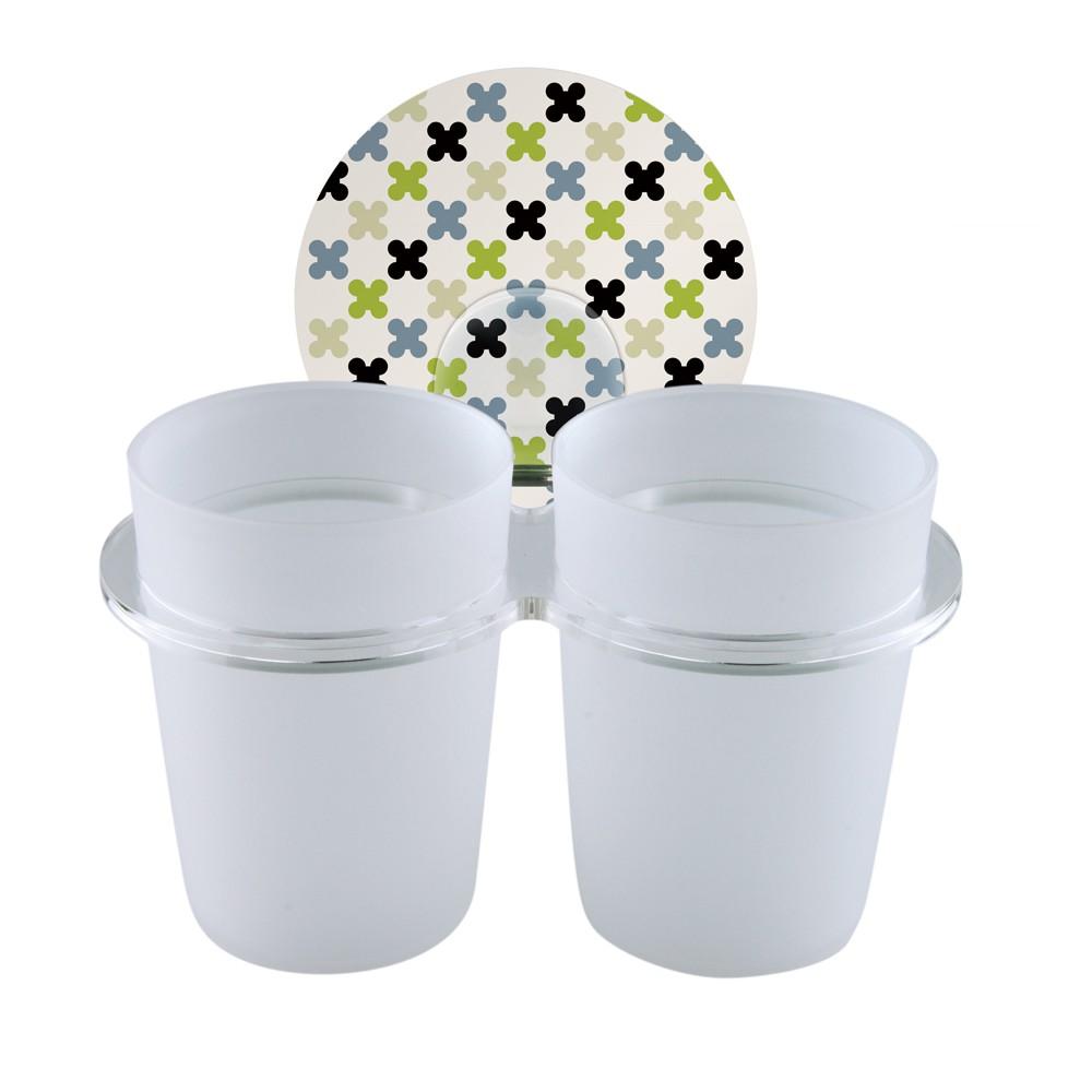 2easy 台製無痕衛浴收納系列 雙杯架