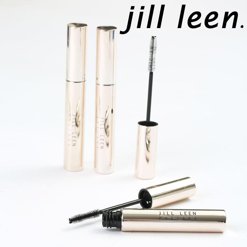 JILL LEEN晶采纖長定型睫毛膏持久捲翹 不暈染纖維打底膏睫毛雨衣&蜜桃醬&