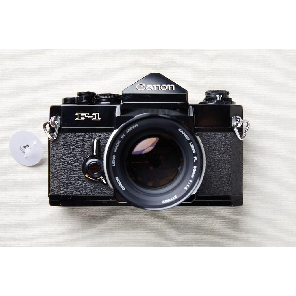 【森寫真機店】Canon F1 + FL 50mm F1.4 #596