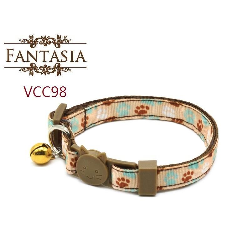 【VCC98】成貓安全項圈(S) 安全插扣 防勒 貓項圈 鈴鐺 范特西亞 Fantasia