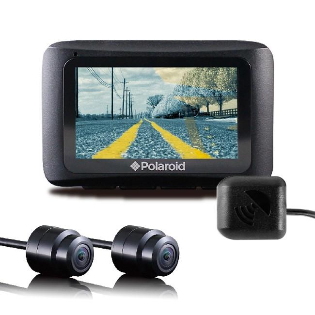 Polaroid 寶麗萊 MS273WG 蜂鷹夜視雙鏡 GPS機車行車記錄器 [送3好禮] (禾笙科技)