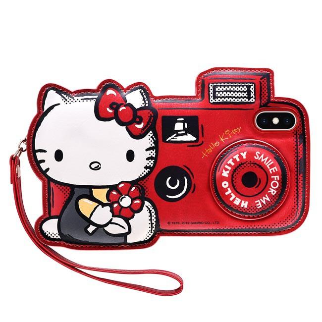 GARMMA Hello Kitty IPhone X/XS 5.8 XS MAX 6.5皮革造型保護套