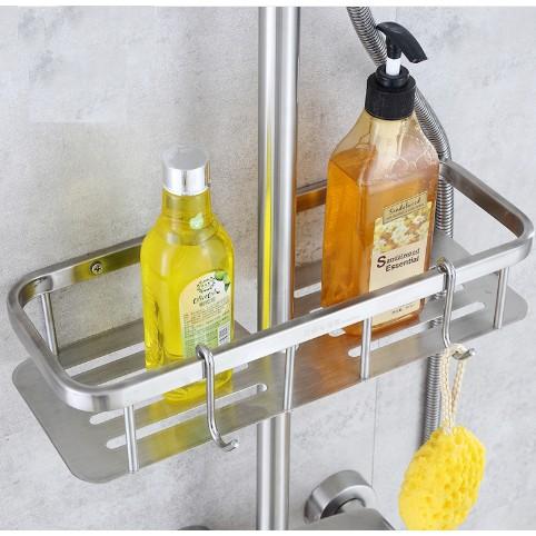 304不鏽鋼滑桿置物架 滑桿置物架 浴室置物架 置物架