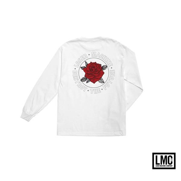GOODFORIT / 美國Loser Machine Flourish L/S T-Shirt玫瑰長袖上衣/兩色