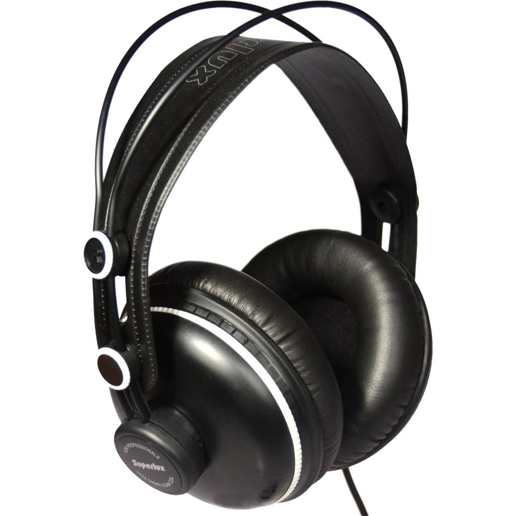 【全館折300】送原廠袋轉接頭 Superlux HD662F 監聽耳機 耳罩式耳機 封閉式專業監聽級耳機 舒伯樂 黑