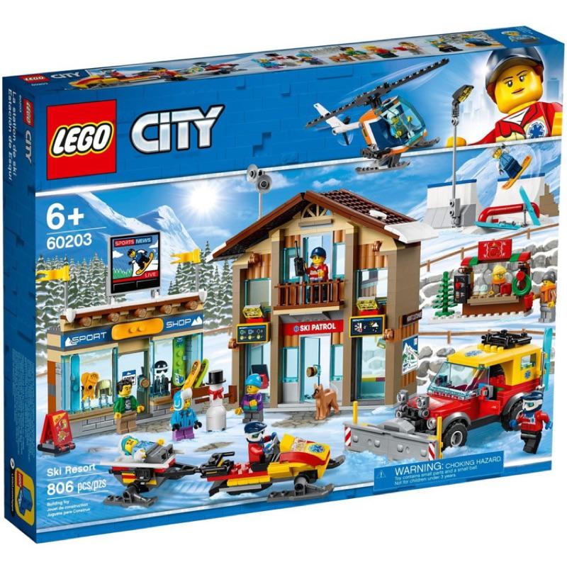 Lego CITY 60203 滑雪度假村