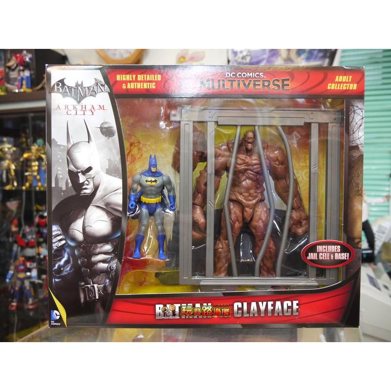 {玩具路邊攤} Mattel DC 4吋 Multiverse 蝙蝠俠 vs 泥巴人 Batman Clayface