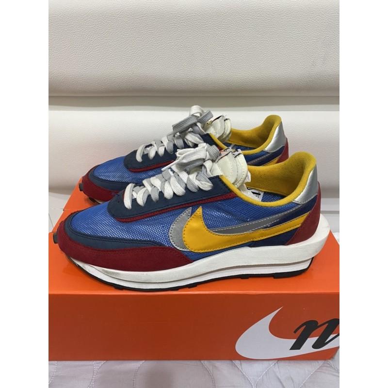 Nike x Sacai  LDWaffle 藍紅 Us11.5 二手 -Yeezy