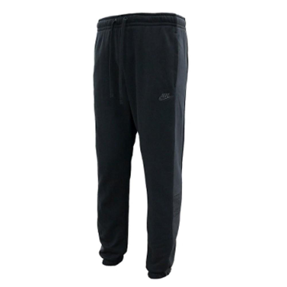 NIKE 男款 長褲 棉質 鬆緊 口袋 刺繡 黑 CZ9969010 Sneakers542
