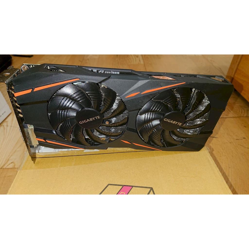 Gigabyte Radeon™RX 580 GAMING 8G MI 參考RX570 GTX1060 4G 6G 8G