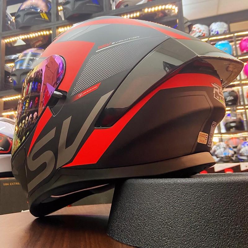 火速出貨{頂得住安全帽}RSV AVENDOR SA-60 全罩式安全帽 插銷鐵扣 內置墨鏡