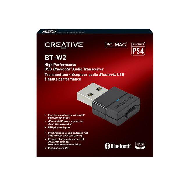 CREATIVE BT-W2 藍芽發射器 (電腦 / PS4 / Switch可用)