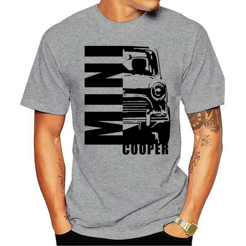 口袋妖怪 MINI COOPER 經典汽車男士 T 恤男士 T 恤