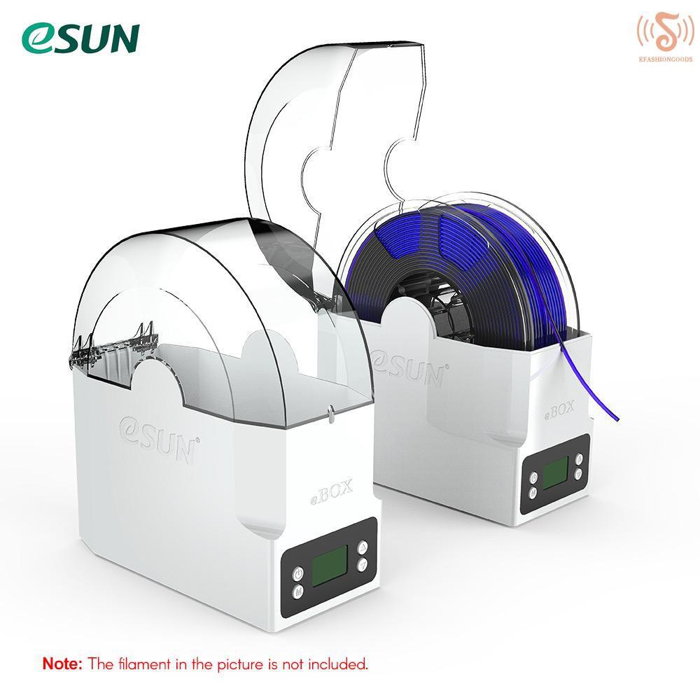 E * S eSUN eBOX 3D打印長絲盒長絲存放架保持長絲干法測量長絲Weig