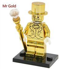 Mr Gold兼容樂高小金人積木